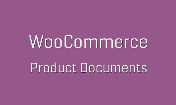 WooCommerce Product Documents 1.7.1 Extension