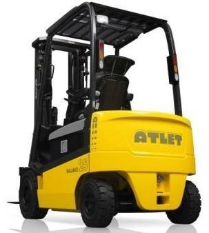 Atlet Electric Forklift Truck 1Q2 Series EH-20, EH-25, EH25L, EH-30, EH30L Workshop Service Manual