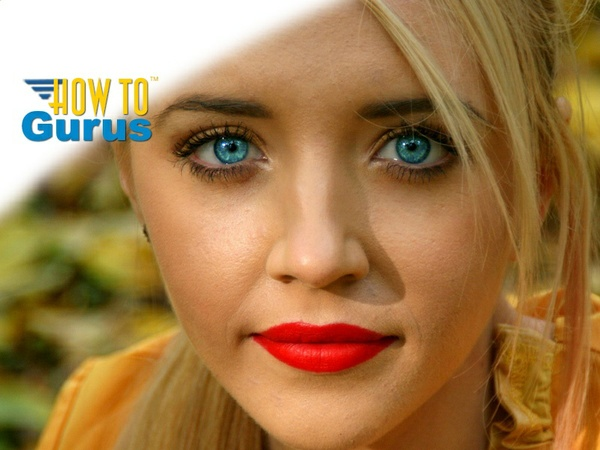 How To Brighten Enhance Change Color and Make Eyes Pop in Photoshop CS5 CS6 CC Tutorial