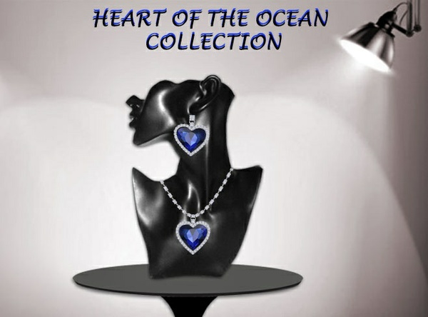 HEART OF THE OCEAN MESH