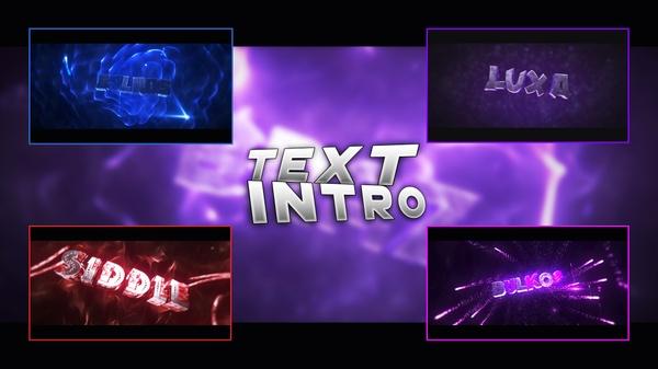 Text intro [1080p - 60 FPS]