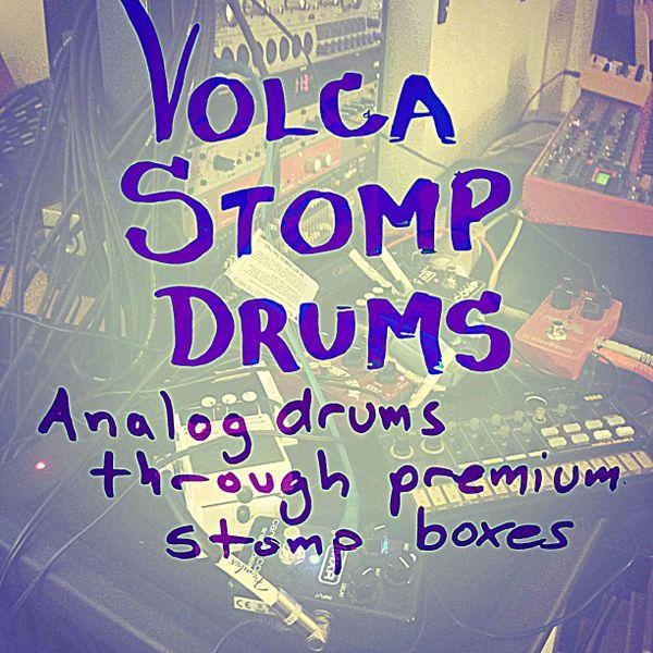 Volca Stomp Drums