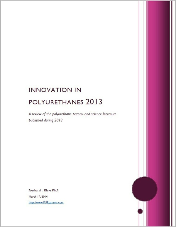 Innovation in Polyurethanes 2013