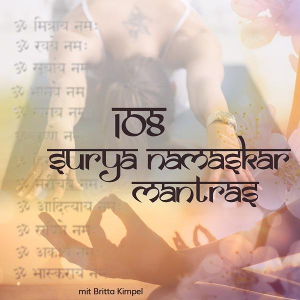 108 Surya Namaskar Mantras