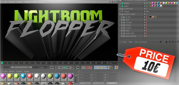Flopper Exclusive Lightroom V1 + FREE MODELS