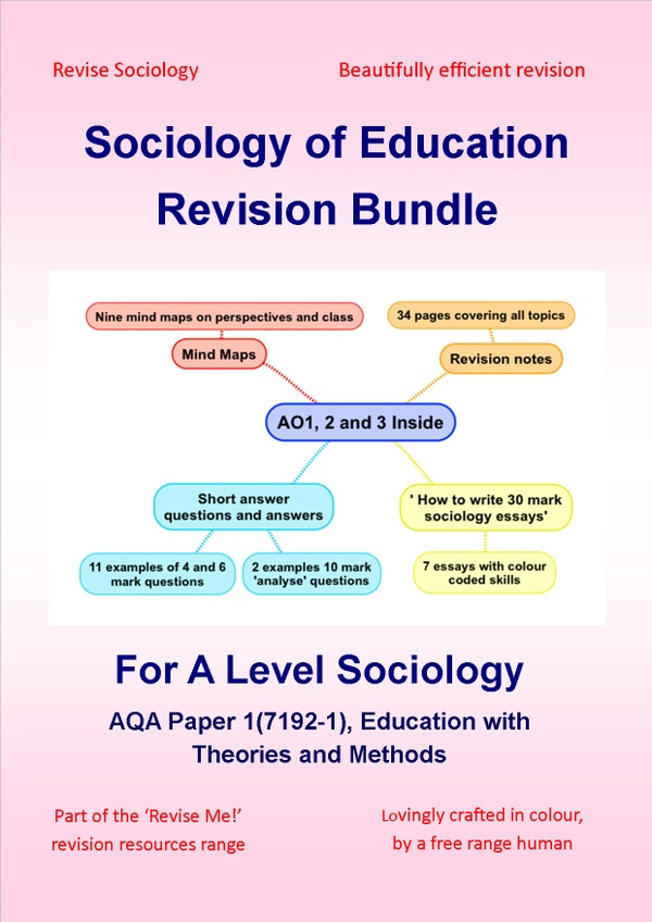 A Level Sociology of Education Revision Bundle