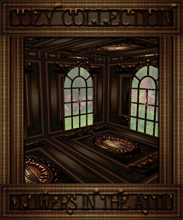 FLOWERS IN THE ATTIC ROOM MESH FOR IMVU