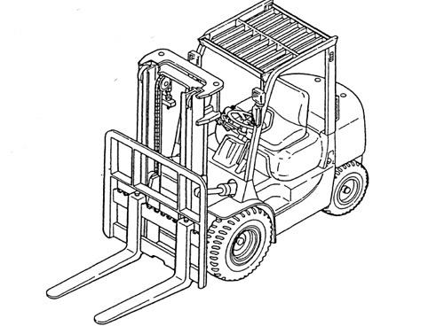 Caterpillar Cat GP15K - DP35K AC lift Trucks Service Repair Manual Download