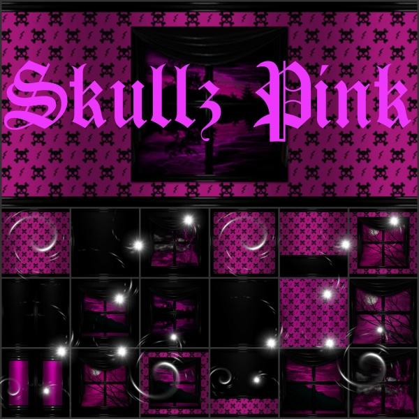Skullz Pink