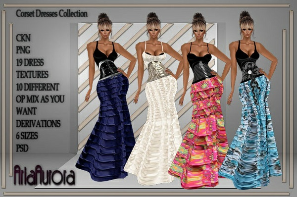 Ruffle Dresses Collection Resell Right to 4 People!!!
