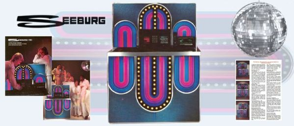 "Seeburg STD4 160  ""Mardi Gras"" (1977)"