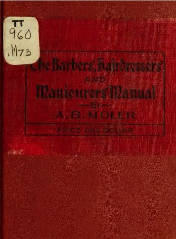 The Barbers Manual -TotalBarber Vintage Books