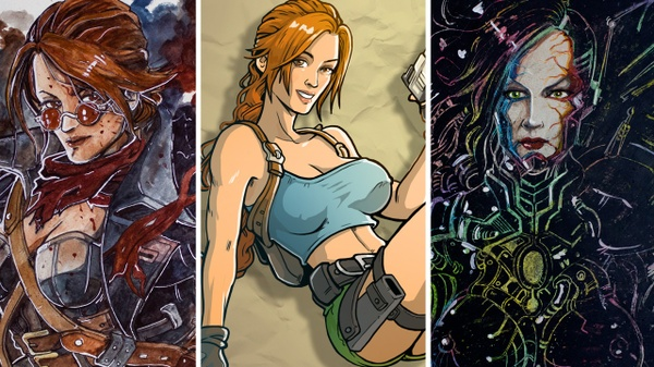 3 LARA CROFT MAI VISTE