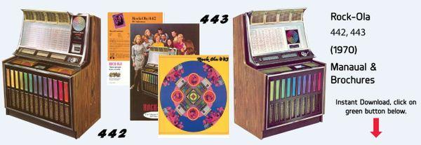 Rock-Ola 442,  443 (1970)