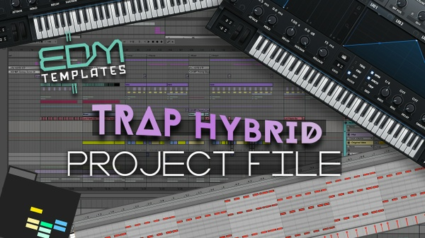 Ableton Live Trap Hybrid Template 07.08