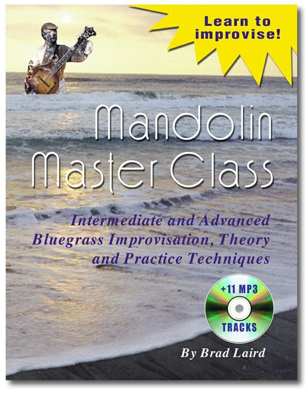 Mandolin Master Class eBook + 11 MP3 Tracks