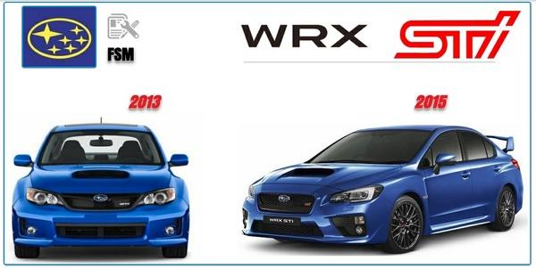 Subaru WRX STi 2013 2015 Factory Service Manual
