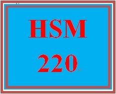HSM 220 Week 8 Developing a Performance Appraisal System