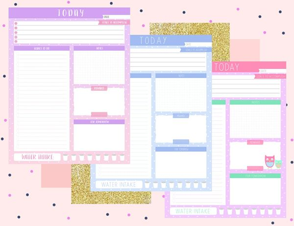 Today Planner by Snipped