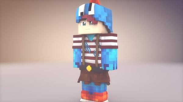 Minecraft Extrude // Skin Extrude