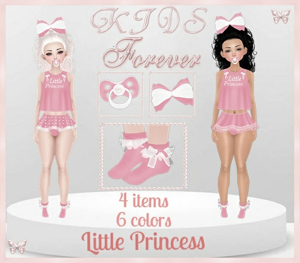 KIDS - 2 Little Princess Bundle