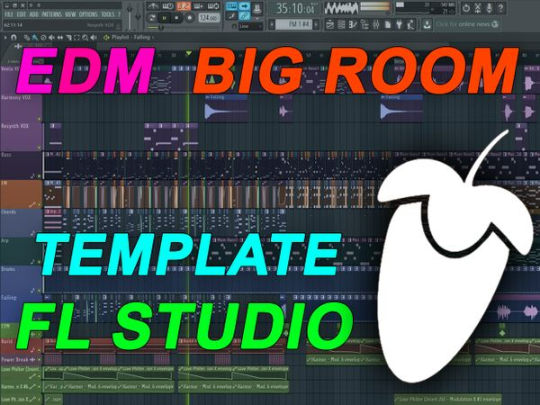 FL Studio - EDM Big Room House Template