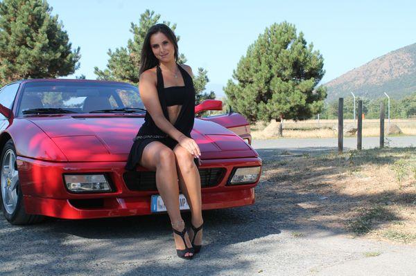 086 : Miss Iris Ferrari first experience