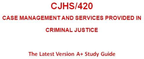 CJHS420 Week 1 Learning Team Charter