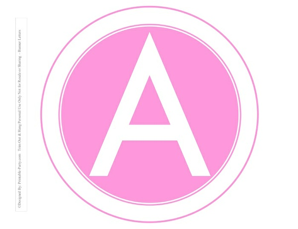 8-INCH-WHITE-PINK-CIRCLE-PRINTABLE-BANNER-LETTERS-A-Z-0-9