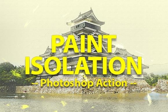 Photo Paint Photoshop Action