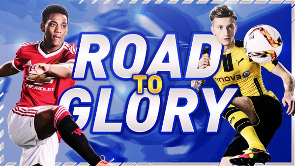 Road to glory thumbnail template - by SkillerzDesign