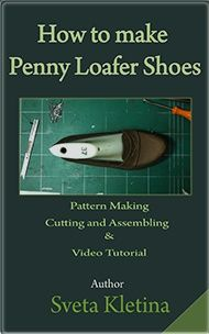 Penny Loafers Full Guide: Pattern Making/Cutting Leather/Assembling