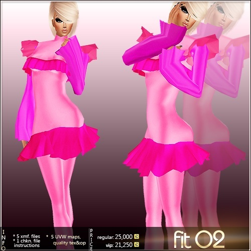 Fit 02 Full Pack IMVU MESH