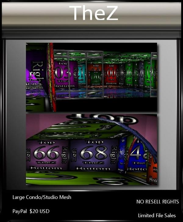 IMVU Large Condo/Studio Mesh