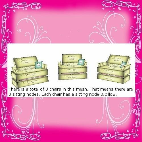 3 Chair Mesh