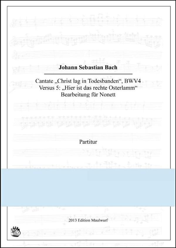 Bach Cantata BWV4, Versus 5 (Nonett)