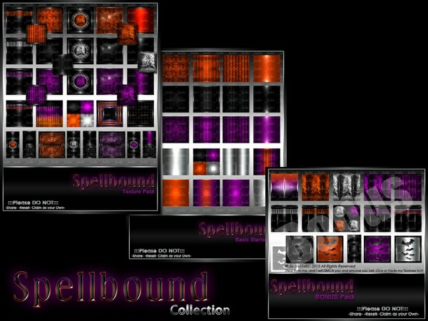 Spellbound Texture Pack Collection-- $15.00