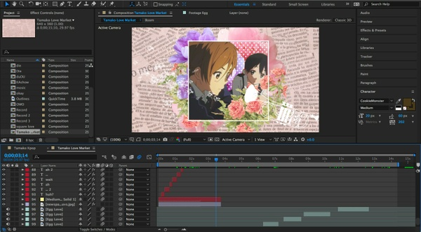 Tamako Love Story Project Files!