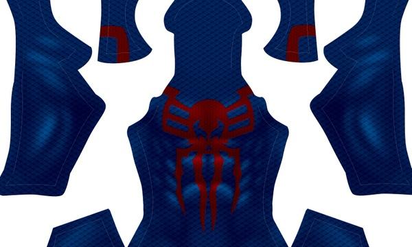 Spider-Man 2099 pattern