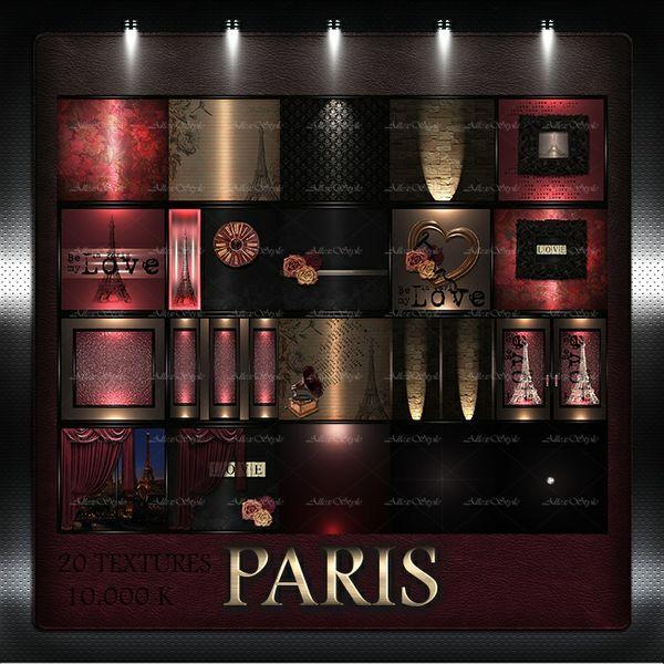 """IMVU TEXTURES FILE """" PARIS"""""""