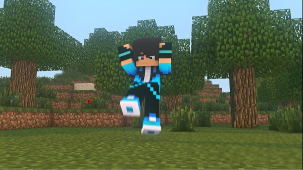 MINECRAFT ANIMATION (C4D & AE) [HQ]