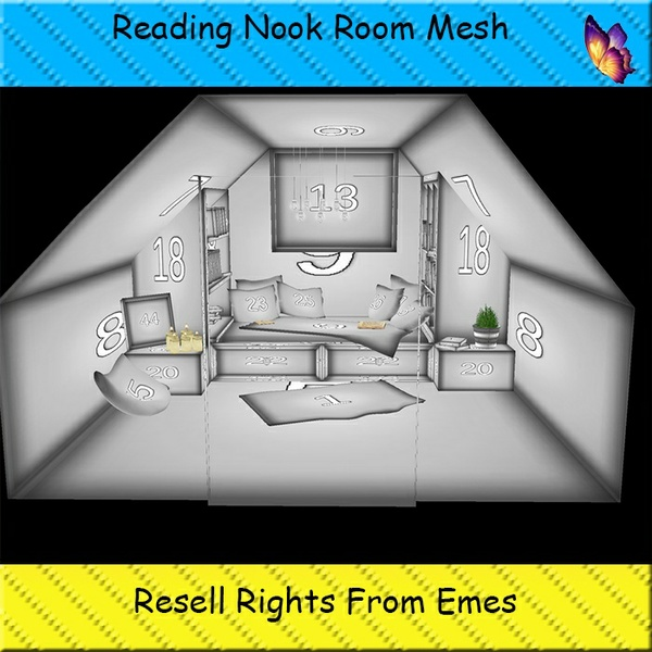 Reading Nook Room Catty Only!!!