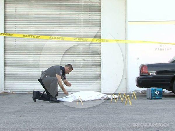 Police Homicide Arrival