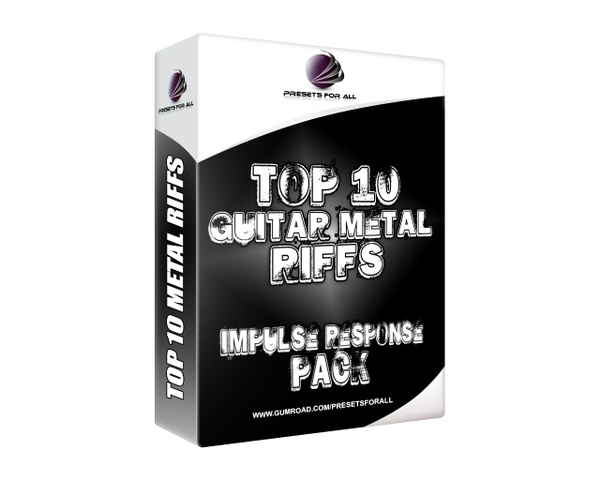 Top 10 Guitar Metal Riffs - Impulse Response Pack