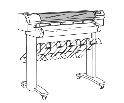 HP DesignJet 700/DesignJet 750C/DesignJet 750C Plus/DesignJet 755CM Plotters/Printers Service Manual