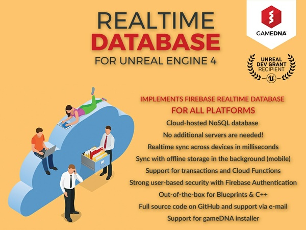 Realtime Database Firebase Plugin for UE4
