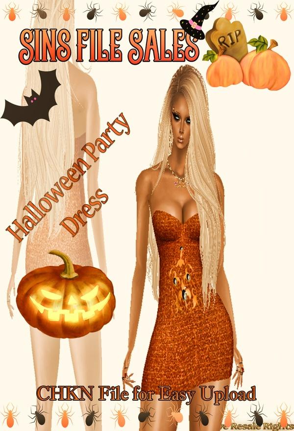 Halloween Party *Dress Freebie* CHKN
