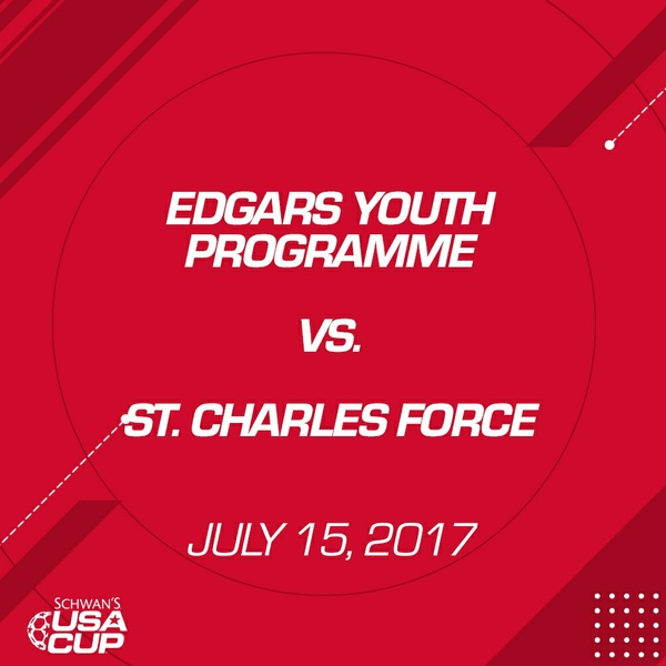 Boys U13 - July 15, 2017 - Edgars Youth Programme V. St. Charles Force