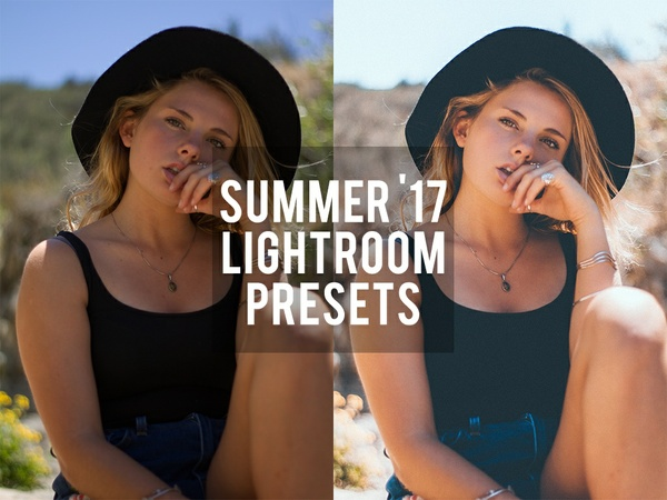Summer '17 Lightroom Presets
