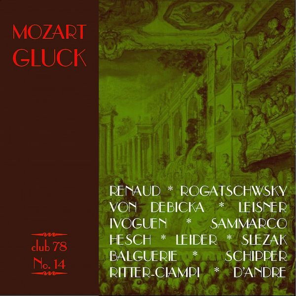 Mozart Gluck * club 78 No. 14